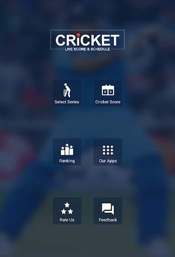 Cricket Live Score & Schedule 7 تصوير الشاشة