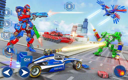 Tank Robot Game 2020 – Police Eagle Robot Car Game screenshot 3