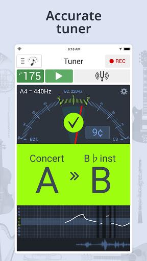 Tuner & Metronome screenshot 1