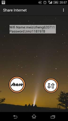 MZ Share Mobile Internet screenshot 3