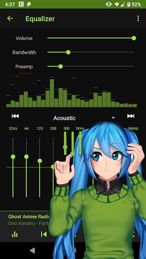 Anime Music Radio - J-pop, J-rock, Soundtracks 2 تصوير الشاشة