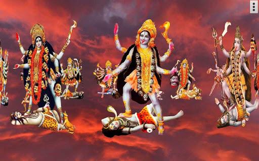 4D Maa Kali Live Wallpaper 15 تصوير الشاشة