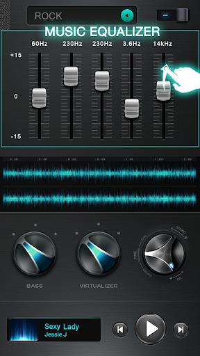 الموسيقى المعادل 3 تصوير الشاشة