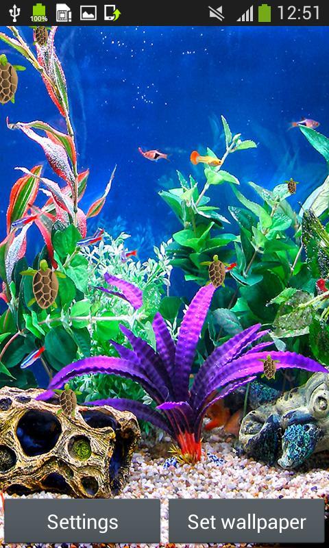 Aquarium Live Wallpapers screenshot 3