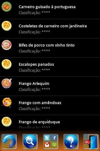 Portuguese Recipes screenshot 6