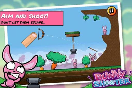 Bunny Shooter Free Funny Archery Game screenshot 1