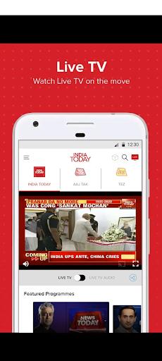 Latest English News & Free Live TV by India Today 5 تصوير الشاشة