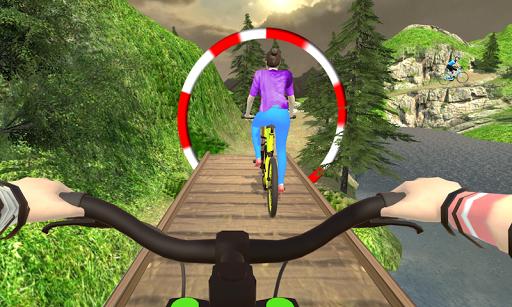 MTB انحدار بي إم إكس دراجه هوائية حيلة المتسابق 2 تصوير الشاشة
