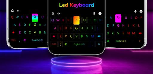 LED Lighting Keyboard - Emojis, Fonts, GIF screenshot 17