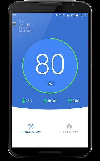 Full Battery & Theft Alarm screenshot 1