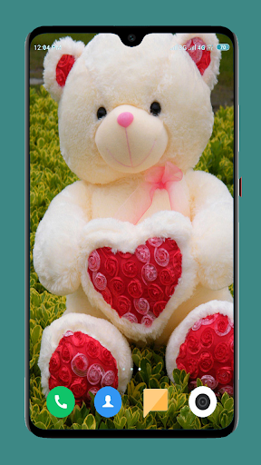 Cute Teddy Bear wallpaper screenshot 2