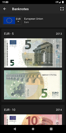 Exchange Rates & Currency Converter 7 تصوير الشاشة