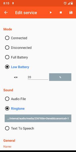 Battery Sound Notification screenshot 3