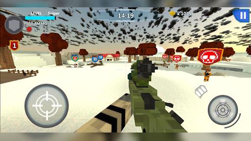 Cube Wars Battle Survival 4 تصوير الشاشة