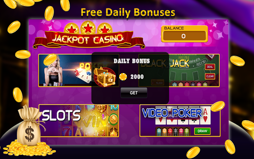 Free Offline Jackpot Casino 2 تصوير الشاشة