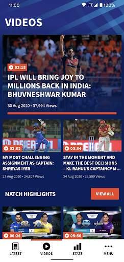 IPL 2020 screenshot 2