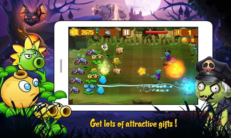 Angry Plants Wars screenshot 5