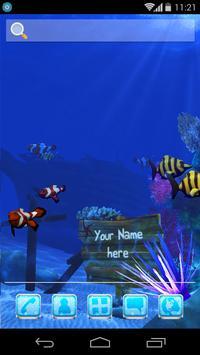 UR 3D Ocean Dolphin Shark HD screenshot 7