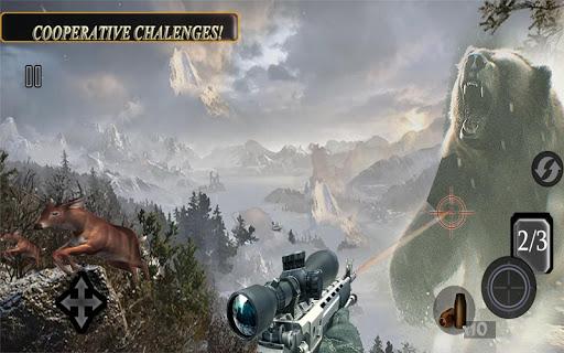 Sniper Animal Shooting 3D:Wild Animal Hunting Game screenshot 4