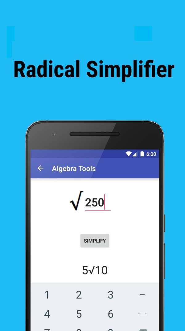 Algebra Tools screenshot 4