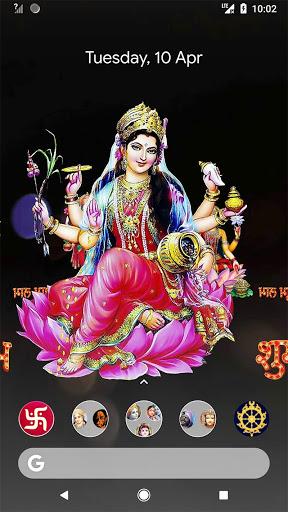 4D Lakshmi Live Wallpaper 6 تصوير الشاشة