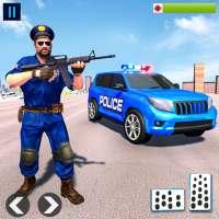 US Police ATV Quad Bike Hummer: Police Chase Games icon