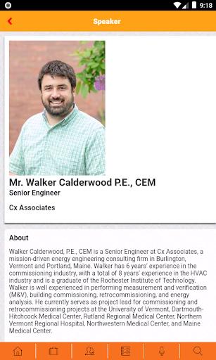 BCxA Conferences screenshot 4