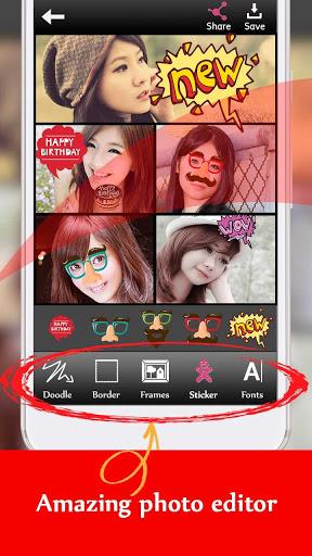 Beauty Smooth camera - Selfie & Photo Collage screenshot 5