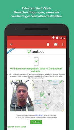 Antivirus & Sicherheit Lookout screenshot 5