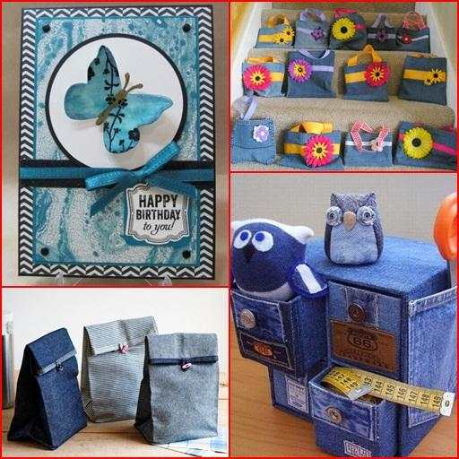 Recycled Jeans Craft Ideas screenshot 8
