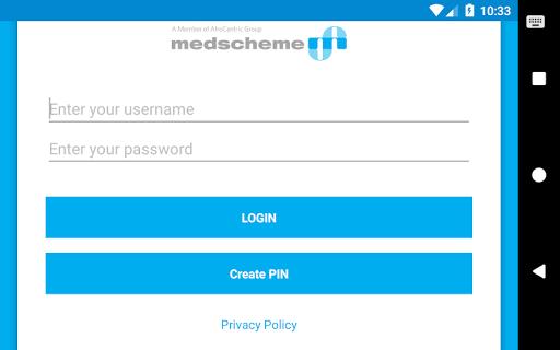 Medscheme Touch 11 تصوير الشاشة
