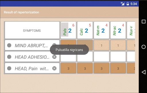 Homoeopathic Repertorium screenshot 7