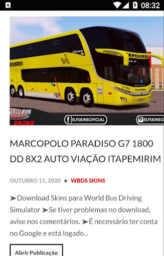SKINS WORLD BUS DRIVING SIMULATOR - ELF screenshot 2