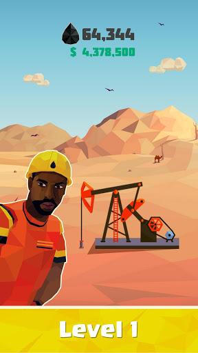 放置石油王:ガソリン工場シミュレーター screenshot 1