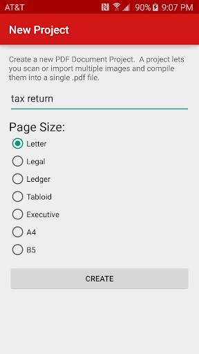 PDF Document Scanner Classic screenshot 2