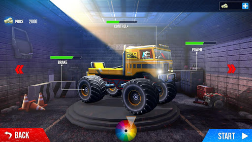Impossible Monster Truck: race & Stunts 3D screenshot 1