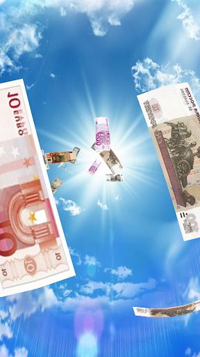 Falling Money 3D Live Wallpaper 3 تصوير الشاشة