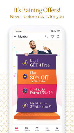 Myntra Online Shopping App - Shop Fashion & more screenshot 3