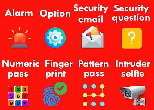 AppLock - Fingerprint 8 تصوير الشاشة