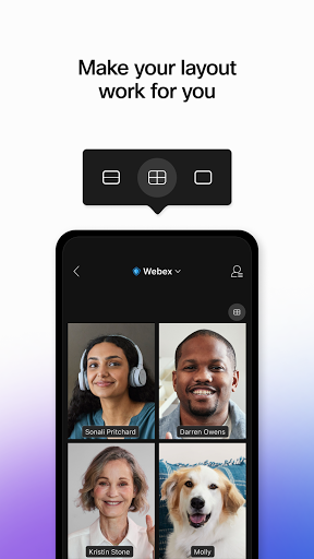 Cisco Webex Meetings 4 تصوير الشاشة