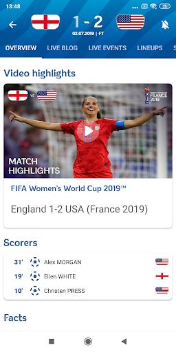 FIFA - Tournaments, Soccer News & Live Scores screenshot 2