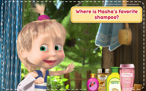 Masha and the Bear: House Cleaning Games for Girls screenshot 12