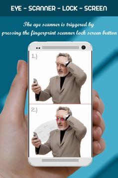 Eye Scanner Lock Screen Prank screenshot 2