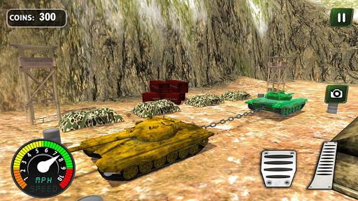 Armed Vehicle 4x4 Tug War: Racing Simulator screenshot 3