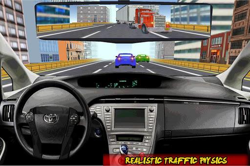 Racing In Car Traffic Drive screenshot 7