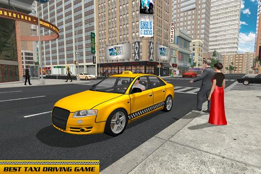 Taxi Driver Car Games: Taxi Games 2021 screenshot 1
