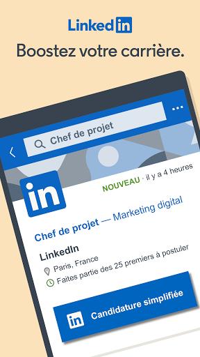 LinkedIn: recherche de job & nouvelles d'affaires screenshot 1