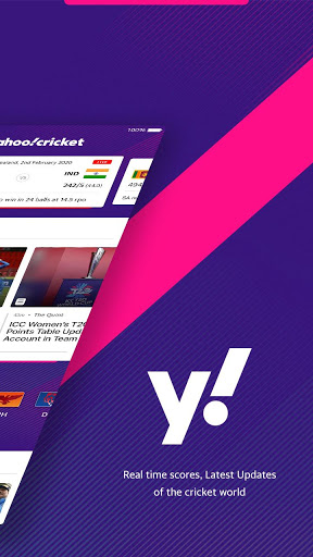 Yahoo Cricket App - Live Cricket Scores & News screenshot 2