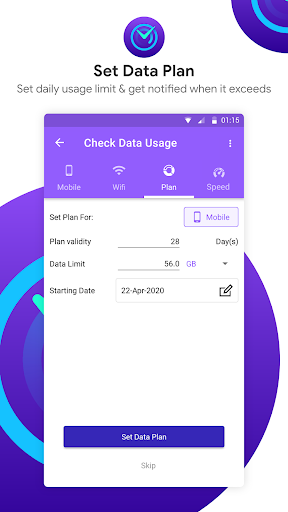 Check Data Usage - Monitor Internet Data Usage screenshot 4