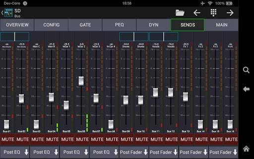 Mixing Station XM32 screenshot 10